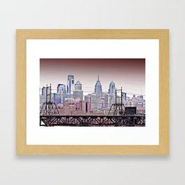 Philly Grit Framed Art Print