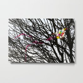Lost kite Metal Print