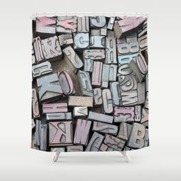 Print Studio Shower Curtain
