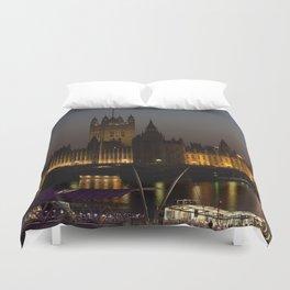 Big Ben London Night Time Duvet Cover
