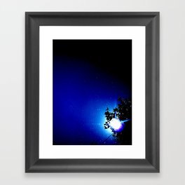 Stars in a day  Framed Art Print