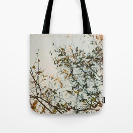 Gold & Warm Tote Bag