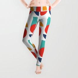 Bauhaus Kandinsky Geometry Typeface Leggings