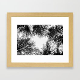 Tree of Hearts Framed Art Print