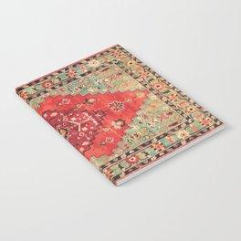 N114 - Vintage Old Antique Oriental Moroccan Artwork. Notebook
