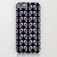 blue print skull Slim Case iPhone 6s