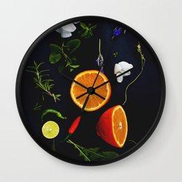Edible Garden Wall Clock