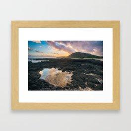 Koko Head Sunset Framed Art Print
