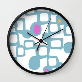 Futura #society6 #pattern #buyart Wall Clock
