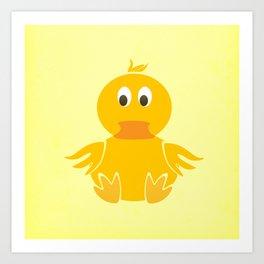 Quack Quack Duck Art Print