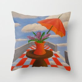 the changing Throw Pillow