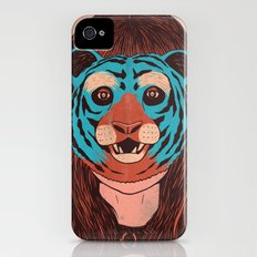 Tiger Face iPhone (4, 4s) Slim Case