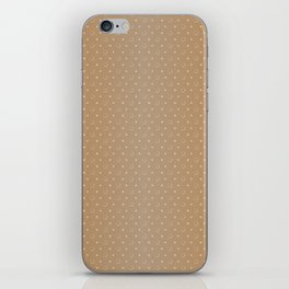 Art Deco, Simple Shapes Pattern 1 [LIGHT GOLD] iPhone Skin