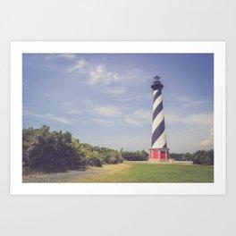 Cape Hatteras Lighthouse (3) Art Print