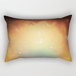 year3000 - Orange Space Rectangular Pillow