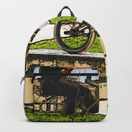 Wheelie Pro - BMX Rider Backpack
