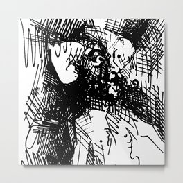 Surprise and Satisfaction Metal Print
