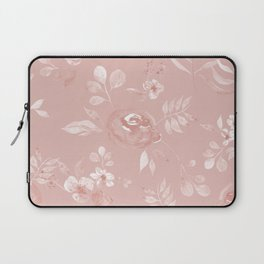Stephanie Floral - Pink Laptop Sleeve