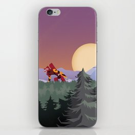 Three Minutes, Thirty Seconds iPhone Skin