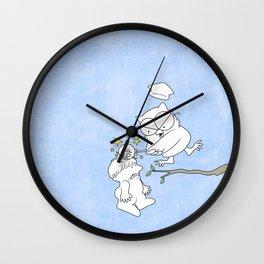 Mr. Owl's Revenge Wall Clock