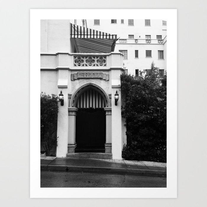 Chateau Marmont Kunstdrucke