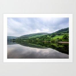 Talybont Reservoir. Art Print