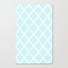 White Rombs #8 The Best Wallpaper Canvas Print