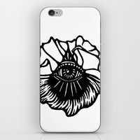 third eye iPhone & iPod Skins featuring Third Eye by Cecile Psicheer