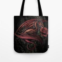 Dragon's Rose Tote Bag