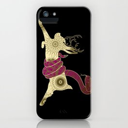 The Jackalope and the Snake iPhone Case