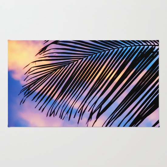 SUNSET PALM Rug