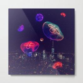 neon night II Metal Print