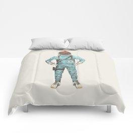 Zissou In Space Comforters