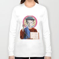 tom waits Long Sleeve T-shirts featuring Tom Waits by Hilal Can