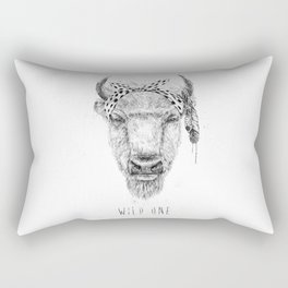 Wild one Rectangular Pillow
