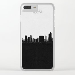 City Skylines: Tulsa Clear iPhone Case