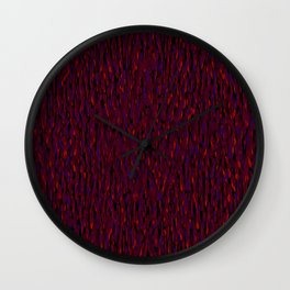Globular Field 5 Wall Clock