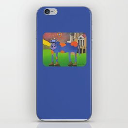 Udderly Frank - Funny Cow Art iPhone Skin