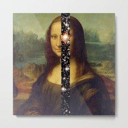 Mona Lisa is Eternal Metal Print