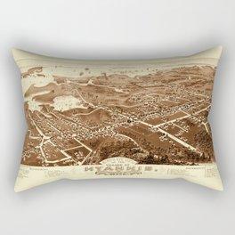 Map of Hyannis 1884 Rectangular Pillow