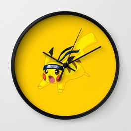 Pika Konoha Wall Clock