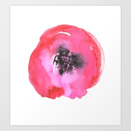 inky pinky poppy Art Print