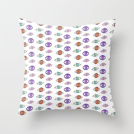 SHORT SIGHTED Throw Pillow