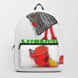 chansonnette francaise Backpack
