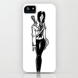 Joan jett iPhone Case