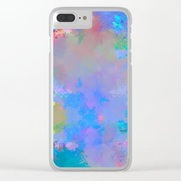 astray and fade Clear iPhone Case