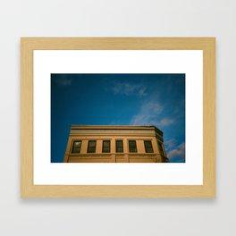 Bold in the Sky Framed Art Print