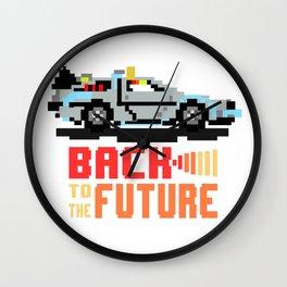 Back to the future: Delorean Wall Clock