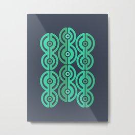 Nephrite Metal Print