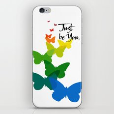 Just be you iPhone & iPod Skin